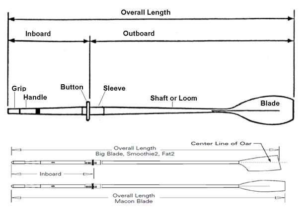 Sculls : A pair of oars for sculling boats (singles, doubles, quads ...